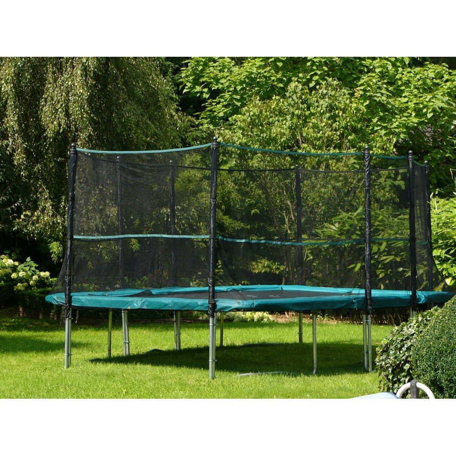 trampoline rectangulaire pas cher